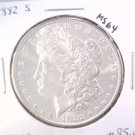 1882 S Morgan Silver Dollar Choice Brilliant Uncirculated BU++