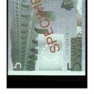 European Union - Specimen Banknote - 5 Euro - 2001 - Crisp Uncirculated