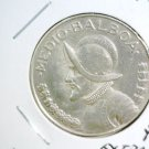 1947 Panama Silver 1/2 Balboa KM#12.1 Extra Fine Condition .3594 ASW