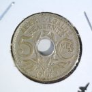 1918 France 5 centimes coin UNCIRCULATED KM#865A