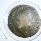 1723 Ireland Hibernia 1/2 Penny KM#117.1  George and Harp