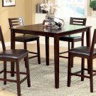 Amador II Espresso Finish 5pc Counter Height Dining Set - FREE DELIVERY IN SOUTHERN CALIFORNIA