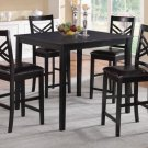 Black or White Finish 5pc Counter Height Dining Set - FREE DELIVERY IN SOUTHERN CALIFORNIA