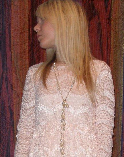 Vintage lace babydoll dress size 8 - 10