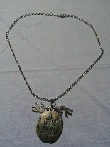 Antique Kokopelli Pendent Necklace