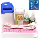 5in1 Hair Removal Roll On Depilatory Heater Wax Pre Waxing Treatment Spray Kit