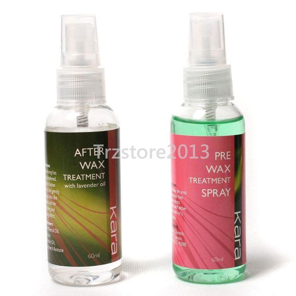 Post After Wax Treatment Spray Pre Before Waxing Liquid Hair Removal Tools Set