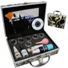 Pro 16 in 1 False Eye Lashes Extension Eyelash Graft Glue CD Full Tools Case Set