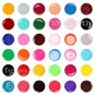Hot Sale 36 PCS Solid Pure Color UV Builder Gel Set for Acrylic Nail Art Tips