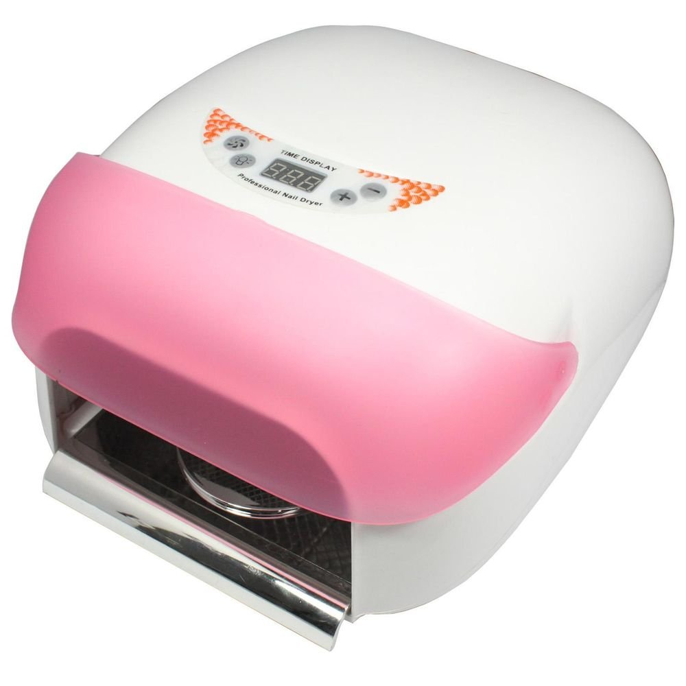 Super 36W Auto Sensor UV Builder Gel Lamp Nail Art Cure Curing Fan with 4 Tube