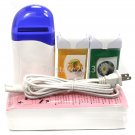 Pro Hair Removal Roll-On Refillable Depilatory Heater Wax Waxing Paper Kit Tools