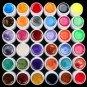 Hot Professional 36 Color Pearl UV Builder Gel Acrylic Nail Polish Tips Art Kit