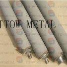 Microporous sintered filter cartridges