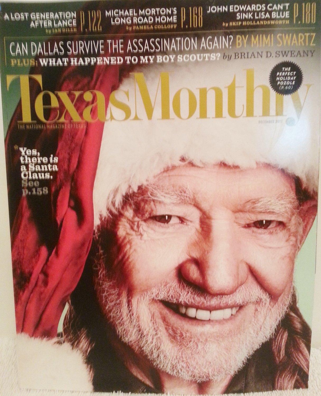 Texas Monthly December 2012 Willie Nelson