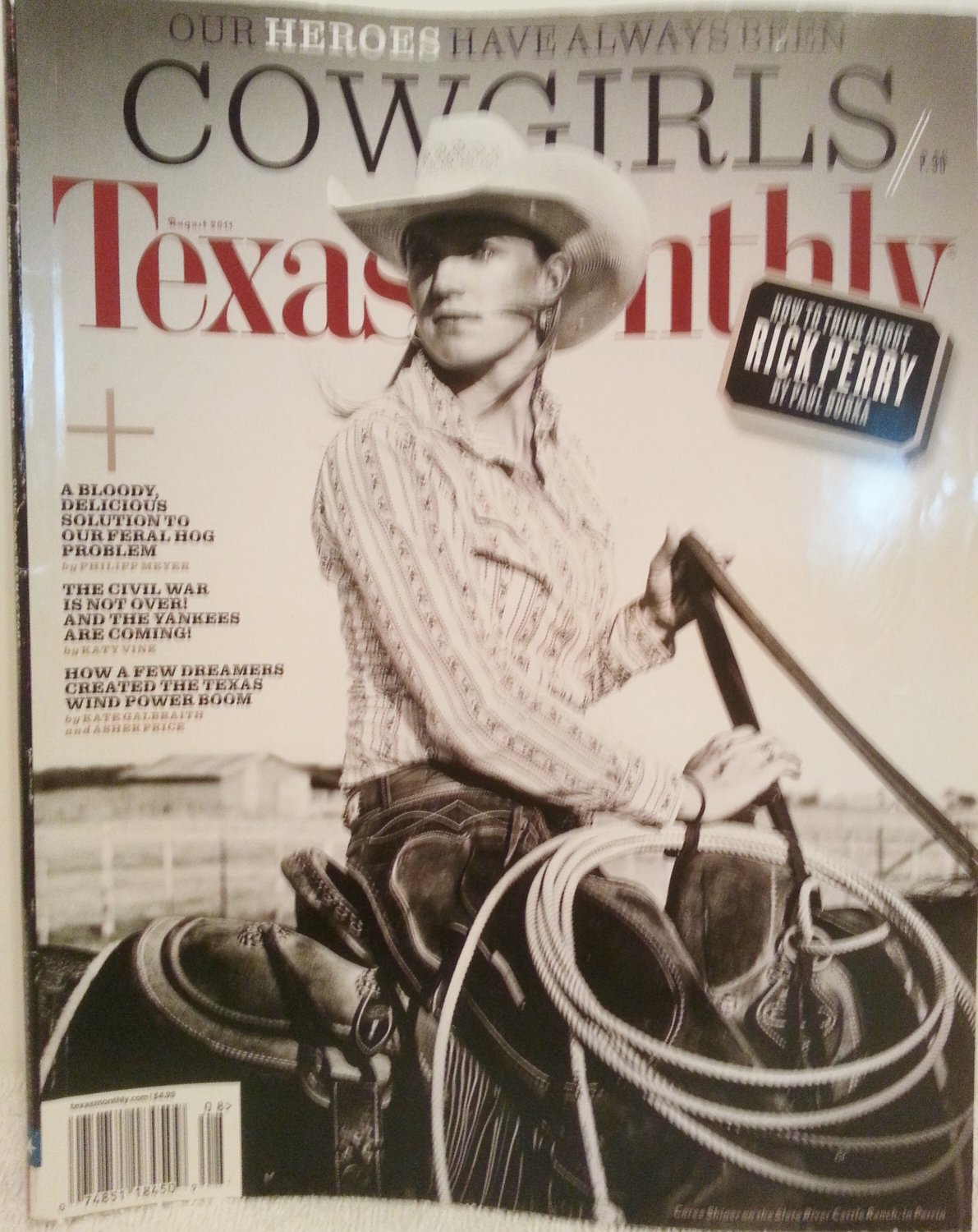 Texas Monthly August 2011 Cowgirls