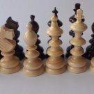 New big huge handmade european hazel wooden chess piece set King 10.7cm,4.21in