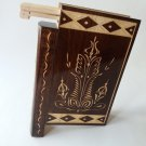 New big huge brown misterious magic puzzle surprise wizard mystery book box