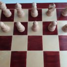 New big huge 23.22x 23.22 in chessboard box,handmade hazel wood chess piece set