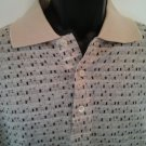 Arturo Garibaldi Golf Shirt M Mens Medium Mercerized Cotton Retro Made in Italy
