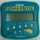 Radica Draw Poker Lite Handheld Electronic Game Model 1401- Tested Works Working