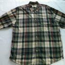 Eddie Bauer XL X L Large Flannel Shirt Camping Mens Lumberjack Long Sleeve Size