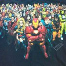 Black Marvel Super Hero Universe 2X XX All Iron Man 2X 2XL XXL Avengers X Men