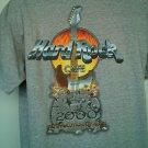 Hard Rock T Shirt Cafe Gray Gatlinburg Hardrock 2000 Evolution Guitar Large L