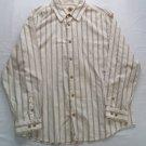 Paradise Collection Long 2X XX Mens XXL 2XL 55% Silk Shirt White Cream Hawaiian