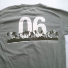 Kenny Chesney Green Concert T Shirt Tour 2006 S Small Long Sleeve Road And Radio