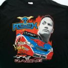 The Rock Racing WWF Know Your Role 2x XX T Shirt Monte Carlo XXL 2XL 50-52 2 X L