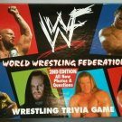 WWF World Wrestling Federation Trivia Game 2nd Edition 1998 WWE Questions