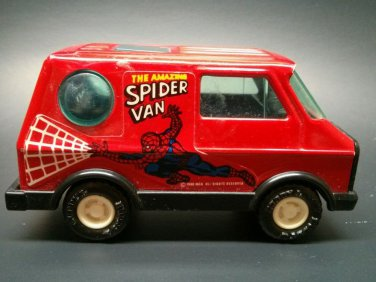 Buddy L Red The Amazing Spider Van Spider Man Marvel Comic Vehicle Car Hero