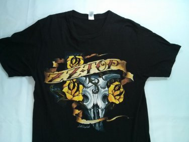 ZZ Top Black Shirt Rock T Shirt Tattoo Small S Scott That Lil Ol Band From Texas