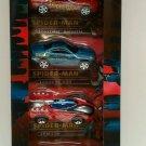 Marvel Spider Man Die Cast Collection Car Set #2 Series Lexus Corvette SPM226