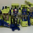 Hasbro Transformer Constructicon Action Figure Near Complete Set 6 Robots Head