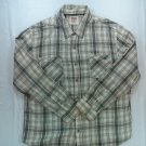 Levis Mens Shirt Long Sleeve Button Front Check Plaid Hunting Pocket 3X XXX 3XL