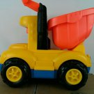 Fisher Price Little People Yellow Orange Talking Dump Truck  2001/2002 Mattel