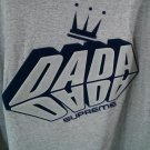 Dada Supreme Long Sleeve Men's Shirt 6XL Gray Crown King Made In USA 100% Cotton