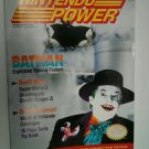 #10 Nintendo Power Magazine NP Jan-Feb 1990 with BATMAN Joker Jack Nicholson
