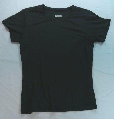Columbia Sportswear Womens Titanium Shirt Small S Shirt Omni Dry Running Golf