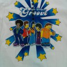 White Simpsons Medium New T Shirt Simpsons Groove 70s Retro Barney Homer 2003