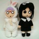 "Living Dead Dolls Creepy 8"" Plush Series 1 Set Of 2 Eggsorcist Eggzorcist Sadie"