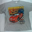 Chevrolet Chevy XL Monte Carlo T Shirt Racing Checkered Flag Thats Power