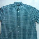 Wholesale Lot 2 Nautica Yellow Blue White Plaid Check Shirt X L XL Large Button