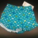 NWT GYMBORE TODDLER GIRLS SEA SPLASH RUFFLE SHORTS-Size 12-18 Months Here Blue