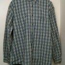 Arrow XXL Plaid Long Sleeve Button Up Shirt 2X XX Mens Men Man Grunge Retro