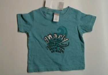 Gymboree Boys SZ 3-6M Gnarly Shirt NWT Top