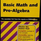 Basic Math and Pre-Algebra (Cliffs Quick Review) ~ Jerry Bobrow Ph.D. ~ Good Con
