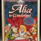 VHS Walt Disneys Masterpiece Alice in Wonderland Sealed New In Plastic