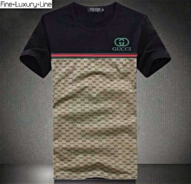 Gucci Casual T-Shirt GG Monogram XL New